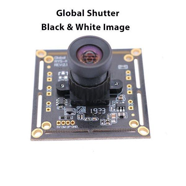 Global shutter black white image 120fps camera module