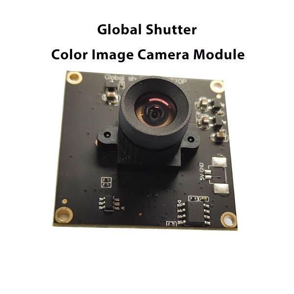Global shutter color image 120fps camera module