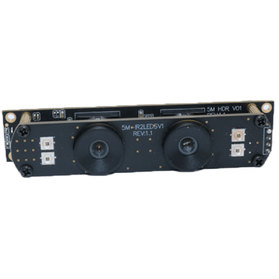 11 Detail Dual Lens 5MP Wide Dynamic Range USB Camera Module For Facial Recognition, Live Detection